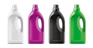 Plastic Bottles mockup. royalty free stock photos