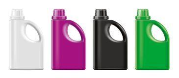 Plastic Bottles mockup. royalty free stock image