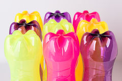 Plastic bottles for the recycle Royalty Free Stock Image