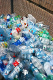 Plastic bottles recycling center Stock Photography