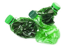 Plastic bottles Stock Photo