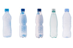 Plastic bottles of water Royalty Free Stock Image