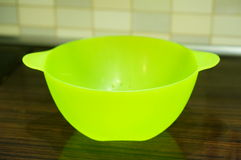 Plastic bowl Royalty Free Stock Photos