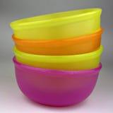 Plastic Bowls Stock Photos
