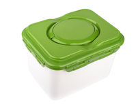 Plastic box Stock Photo