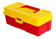Plastic box. Stock Image