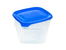 Plastic box Royalty Free Stock Image