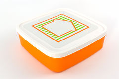 Plastic box package. Royalty Free Stock Image