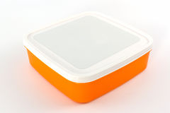Plastic box package. Royalty Free Stock Photo
