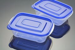 Plastic Boxes Royalty Free Stock Image