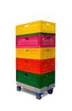 Plastic boxes Stock Photos