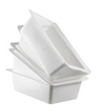 Plastic Boxes Stock Photography