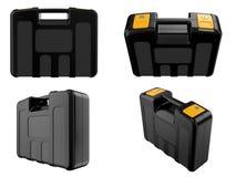 Plastic brief case Stock Images