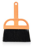 Plastic broom on isolated white background Royalty Free Stock Photo