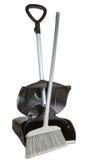 Plastic Broom and Shovel Stock Image