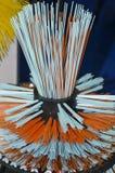 Plastic brush detail royalty free stock photos