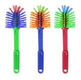 Plastic Brushes Royalty Free Stock Image