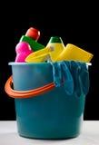 Plastic bucket Stock Image