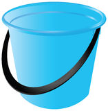 Plastic bucket Stock Image