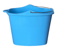 Plastic bucket - blue Stock Photography
