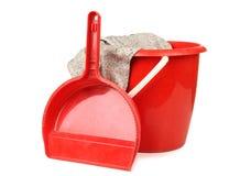 Plastic bucket Royalty Free Stock Image