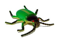 Plastic bug Stock Photo