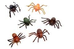 Plastic bugs Stock Image