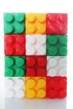 Plastic buidling blocks Royalty Free Stock Photography