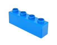 Plastic building blocks Royalty Free Stock Photo