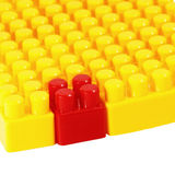 Plastic building constructor Royalty Free Stock Photography