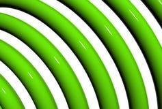 Plastic buizen Stock Fotografie