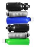 plastic bunt för flaskor Fotografering för Bildbyråer