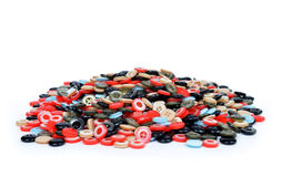 Plastic buttons Stock Image