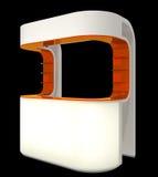 Plastic cabineteller Stock Afbeelding