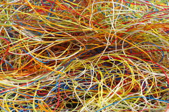 Plastic from cables 5 Royalty Free Stock Photography