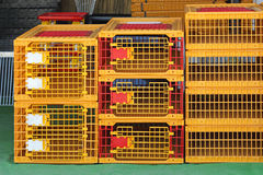 Plastic Cages Stock Photo