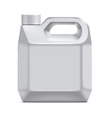 Plastic canister Stock Images