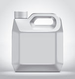 Plastic canister Stock Photos