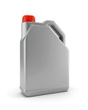 Plastic canister for motor oil Royalty Free Stock Photo