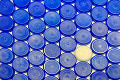 Plastic caps background Royalty Free Stock Photography