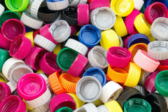 Plastic Caps Royalty Free Stock Images