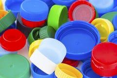 Plastic caps Stock Photo