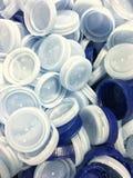 Plastic caps Royalty Free Stock Photography