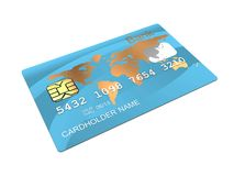 Plastic card Royalty Free Stock Photo