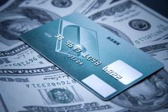 Plastic card Royalty Free Stock Photography