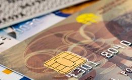 Plastic card Stock Photos