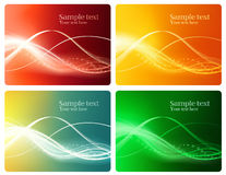 Plastic_card_design_set Royalty Free Stock Photography