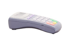 Plastic card reader Royalty Free Stock Photography