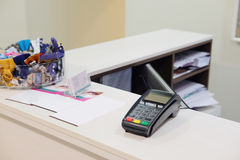plastic card reader Royalty Free Stock Image