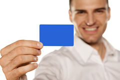 Plastic card Royalty Free Stock Image